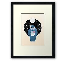 Can I be your Monster? Framed Print