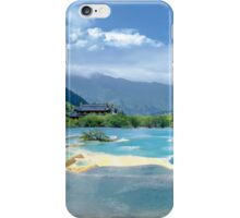 Landscape in Sichuan, China iPhone Case/Skin