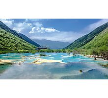 Landscape in Sichuan, China Photographic Print