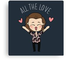 HARRY :: ALL THE LOVE // Canvas Print