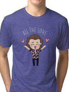 HARRY :: ALL THE LOVE // Tri-blend T-Shirt