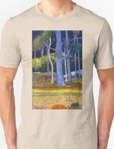 Paul Gauguin - Landscape with Blue Trunks T-Shirt