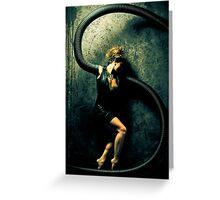 Black Widow 1 Greeting Card