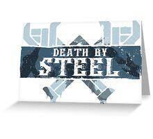 Death By Steel (Olaf-LoL) Greeting Card