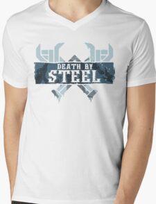 Death By Steel (Olaf-LoL) Mens V-Neck T-Shirt