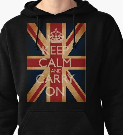 Keep Calm and Carry On Pullover Hoodie