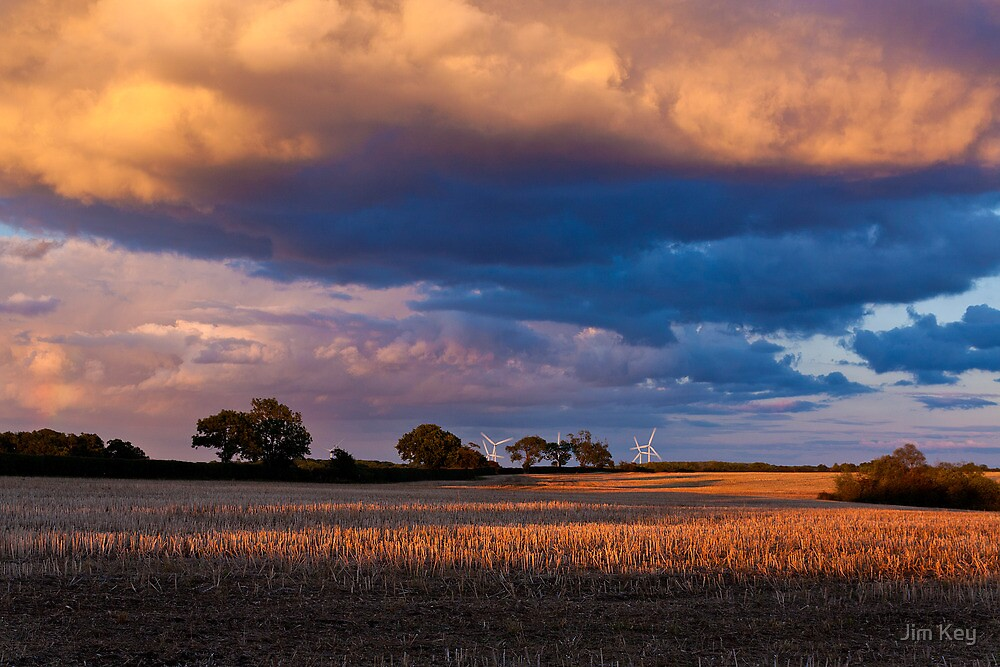"""""""Under a Cloud""""  View to Petsoe End by James  Key"""