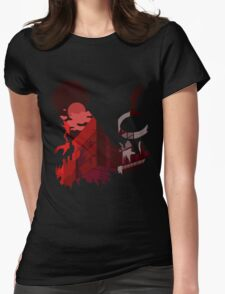 Kaneki Scenery Womens Fitted T-Shirt