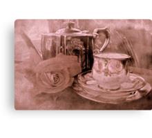"""Tea for One ....."" Canvas Print"