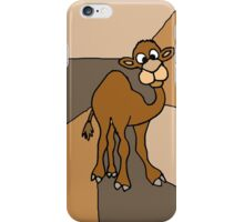 Funky Goofy Camel Original Art Abstract iPhone Case/Skin