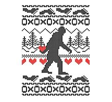 Gone Squatchin for Love this Holiday Photographic Print