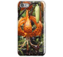 Spotted flower iPhone Case/Skin