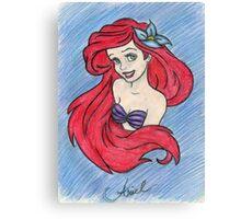 Princess A Canvas Print