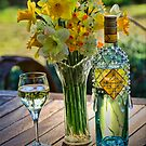 Sunshine and Daffodils and wine of course by Kym Howard