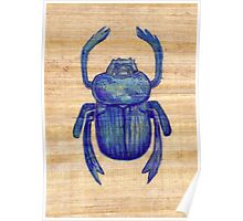Heart Scarab Poster