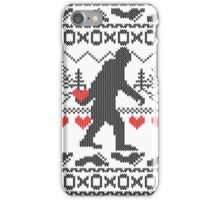 Gone Squatchin for Love this Holiday iPhone Case/Skin