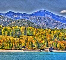 HDR - Lake Walchensee II by Daidalos