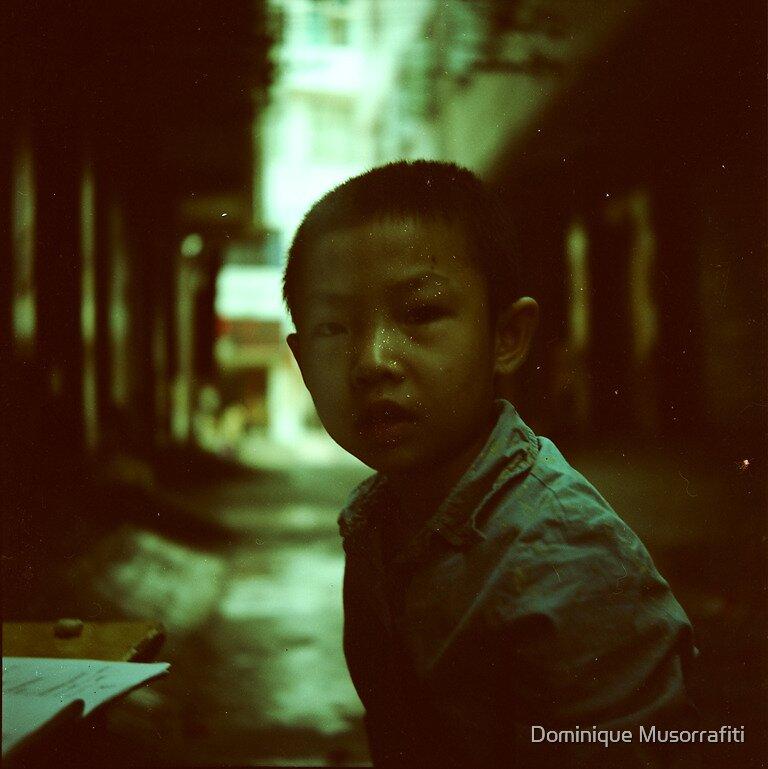 A boy by Dominique Musorrafiti