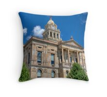 Marion County Courthouse, Marion, OH Throw Pillow