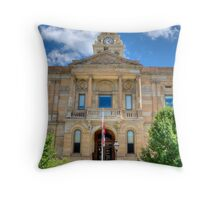 Marion County Courthouse Throw Pillow