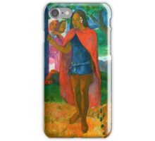Paul Gauguin - The Wizard of Hiva Oa iPhone Case/Skin