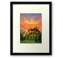 Uprooted Ancient Framed Print