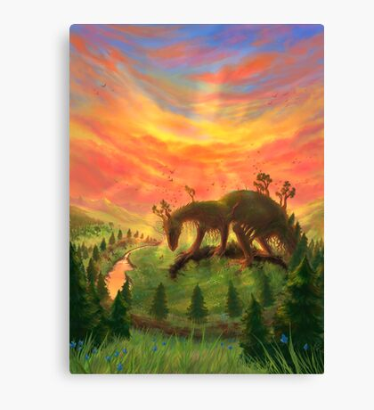 Uprooted Ancient Canvas Print
