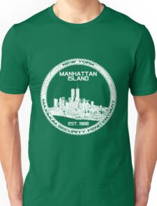 Escape From New York White Unisex T-Shirt