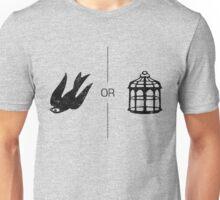 Bird or Cage Unisex T-Shirt