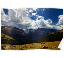 12,000 Ft Old Fall River Road , Colorado Poster