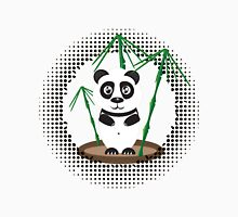 Illustration of  panda with bamboo Unisex T-Shirt