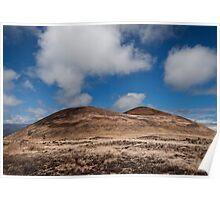 Volcanic landscape 3 Poster