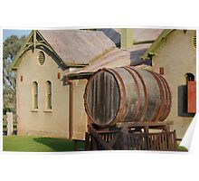 Old Winery - Gledswood Poster