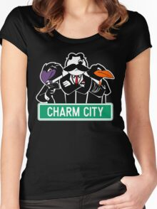 Charm City Gang Women's Fitted Scoop T-Shirt
