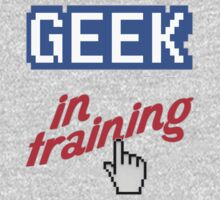 Geek In Training Kids Tee