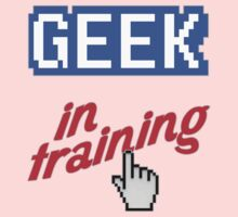 Geek In Training One Piece - Long Sleeve