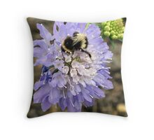 Bzzzzzz Throw Pillow