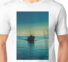 A steamboat in Bosphorus Unisex T-Shirt