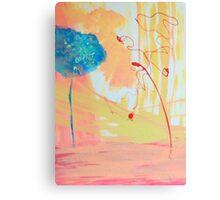Red Tree Blue Tree Canvas Print