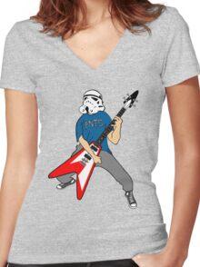 Nerd RockStar Male Women's Fitted V-Neck T-Shirt