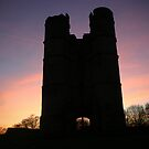 Donnington castle sunset by James Taylor