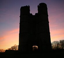 Donnington castle sunset by James Taylor