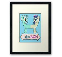 My Litte Pony - MLP - LyraBon Framed Print