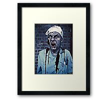 Yes, I Got My Flu Shot... thanks for asking! Framed Print