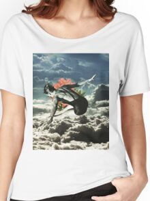 Lost In The Clouds Women's Relaxed Fit T-Shirt