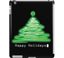 Merry Christmas and Happy Holidays! IT, Software Engineers, System Engineers, Hackers, Geeks  iPad Case/Skin