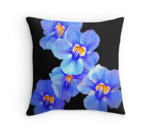 The Fab Five Throw Pillow