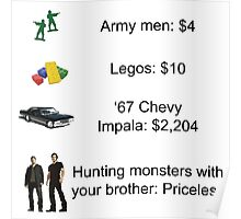 Hunters are Priceless Poster