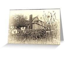 In the Fall of Life Greeting Card