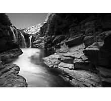 Lennard Gorge in Monochrome Photographic Print